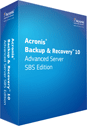 Acronis® Backup & Recovery™ 10 Advanced Server SBS Edition